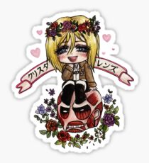 Christa Renz Sticker