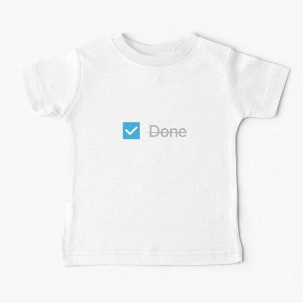 Checkbox (Done) Block Baby T-Shirt