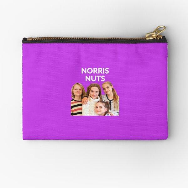 Norris Nuts merchandising Zipper Pouch