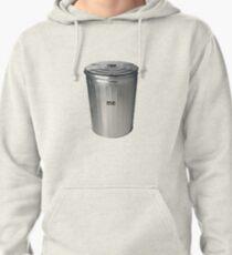 I Am Trash Print Pullover Hoodie