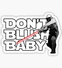 don't blush baby - chris gayle jedi Sticker