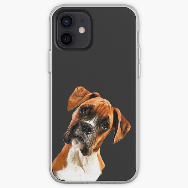 Boxer A Beautiful Boxer Head Tilt iPhone Soft Case