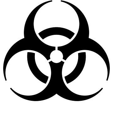 Biohazard Symbol by madphotoart