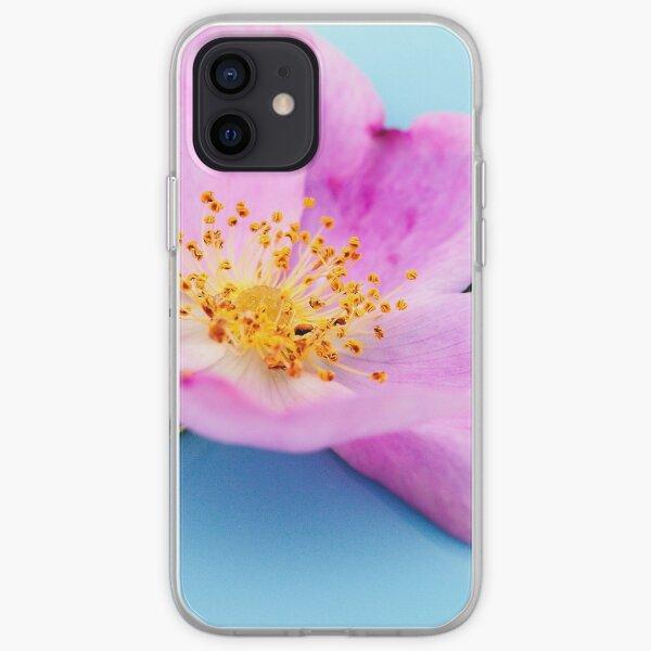 Pastel Wild Rose iPhone Soft Case