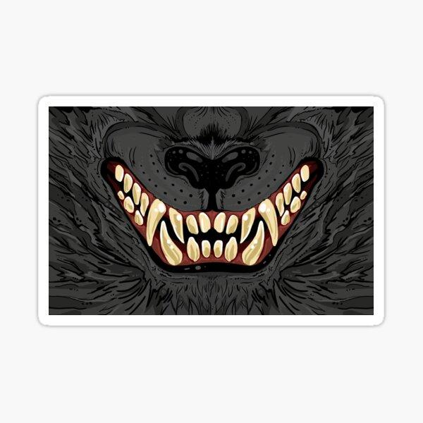 WereWolf Snarl  Sticker