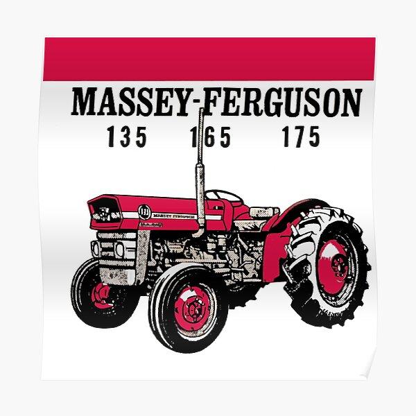 Copie du tracteur Massey-Ferguson 135165175 Poster