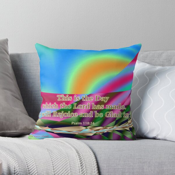 This is the Day which the Lord has made Throw Pillow