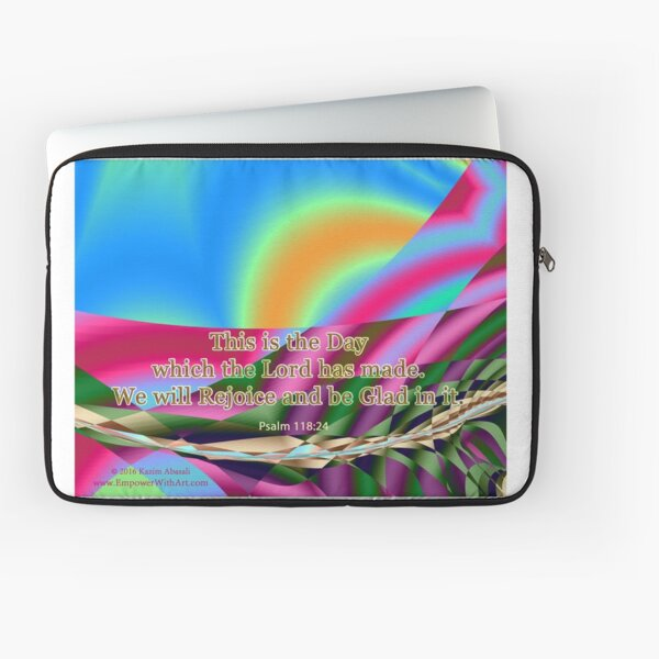 This is the Day which the Lord has made Laptop Sleeve
