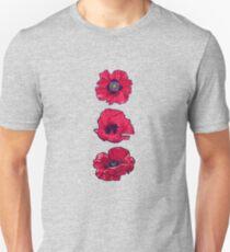 Poppies - August Birth Flower Unisex T-Shirt