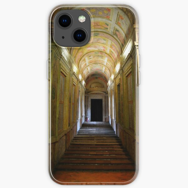 Entrance of Palazzo Ducale, Mantua, Italy iPhone Soft Case