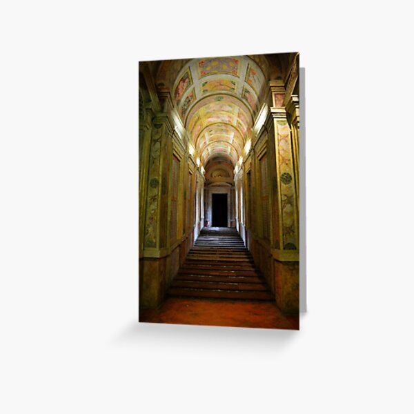 Entrance of Palazzo Ducale, Mantua, Italy Greeting Card