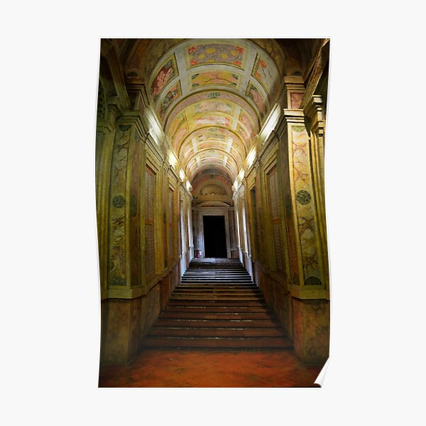Entrance of Palazzo Ducale, Mantua, Italy Poster