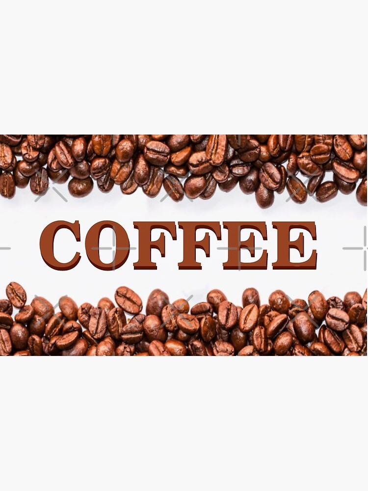 Classic Coffee Beans by RipeBananaShop