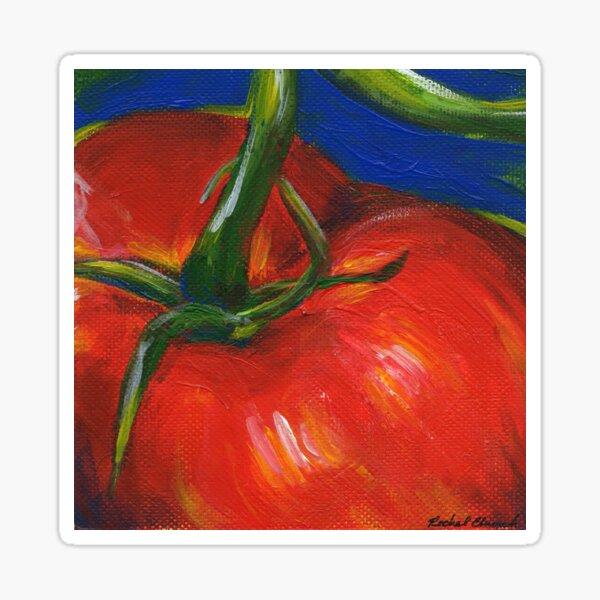 Tomato Painting Sticker
