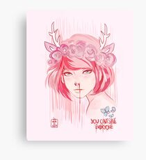 Max Caulfield (pink) Metal Print