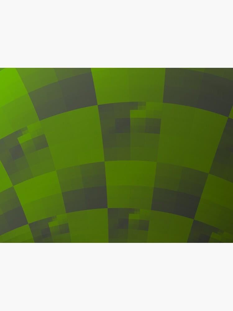 Green Squares Pattern Design by garretbohl