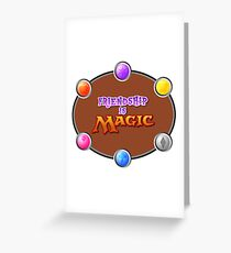 MLP: Friendship is Magic: The Gathering Greeting Card