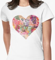 Heat Art - Peace Womens Fitted T-Shirt