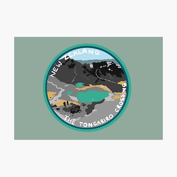 The Tongariro Crossing Photographic Print