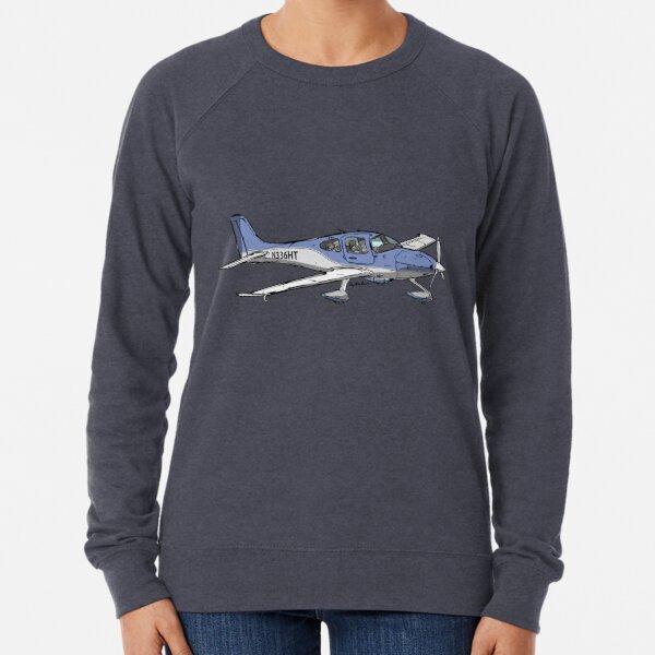 Cirrus SR-22 N336HT Lightweight Sweatshirt