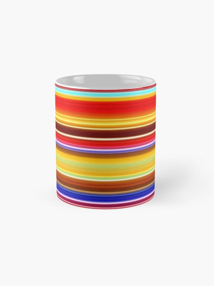 Alternate view of Stripes Stripes and More Stripes 1 Mug