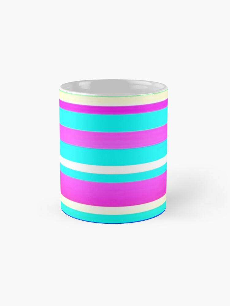 Alternate view of Stripes Stripes and More Stripes 2 Mug