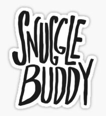 Snuggle Buddy x Pink Sticker