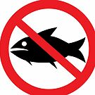No Sharks! Symbol by Tony Herman