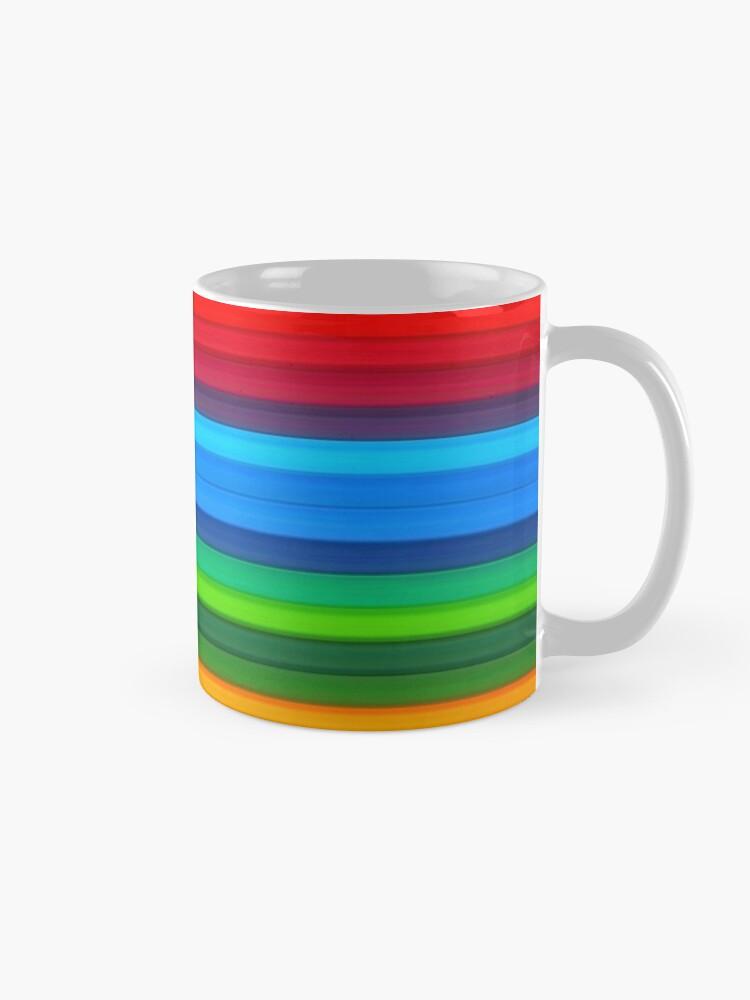 Alternate view of Rainbow Stripes Mug
