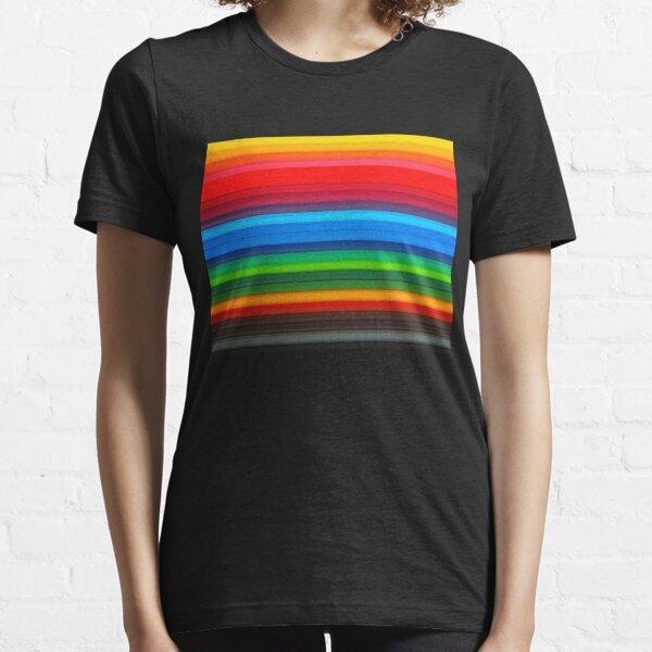 Rainbow Stripes Essential T-Shirt