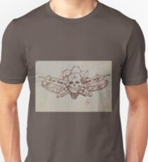 Skulls and guns  Unisex T-Shirt