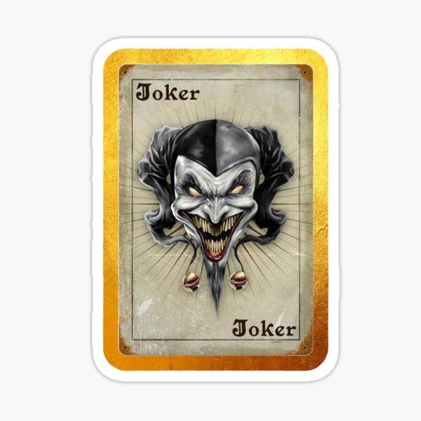 Demon Joker Sticker