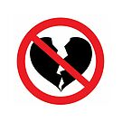 No Broken Hearts! Symbol by Tony Herman