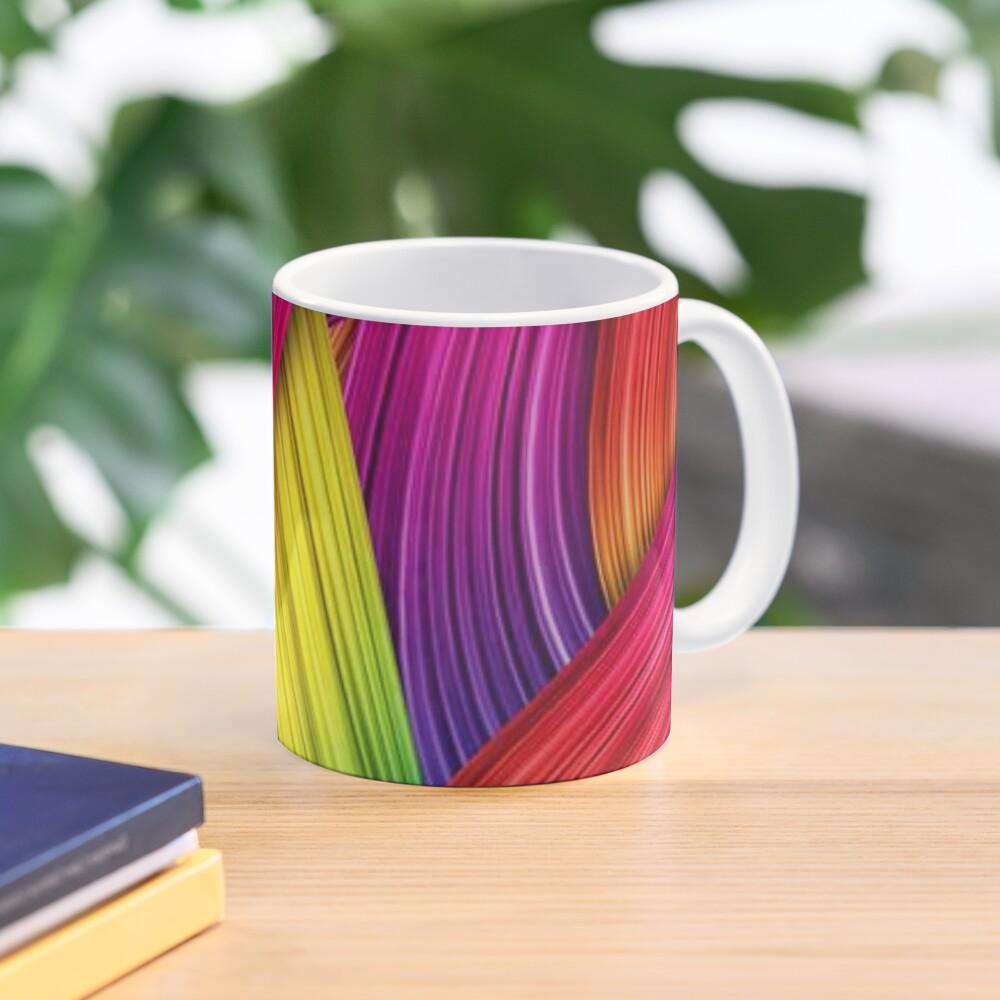 Brush Strokes design  Mug
