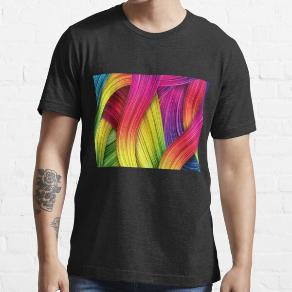 Brush Strokes design  Essential T-Shirt