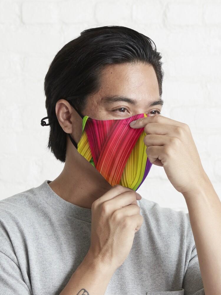 Alternate view of Brush Strokes design  Mask