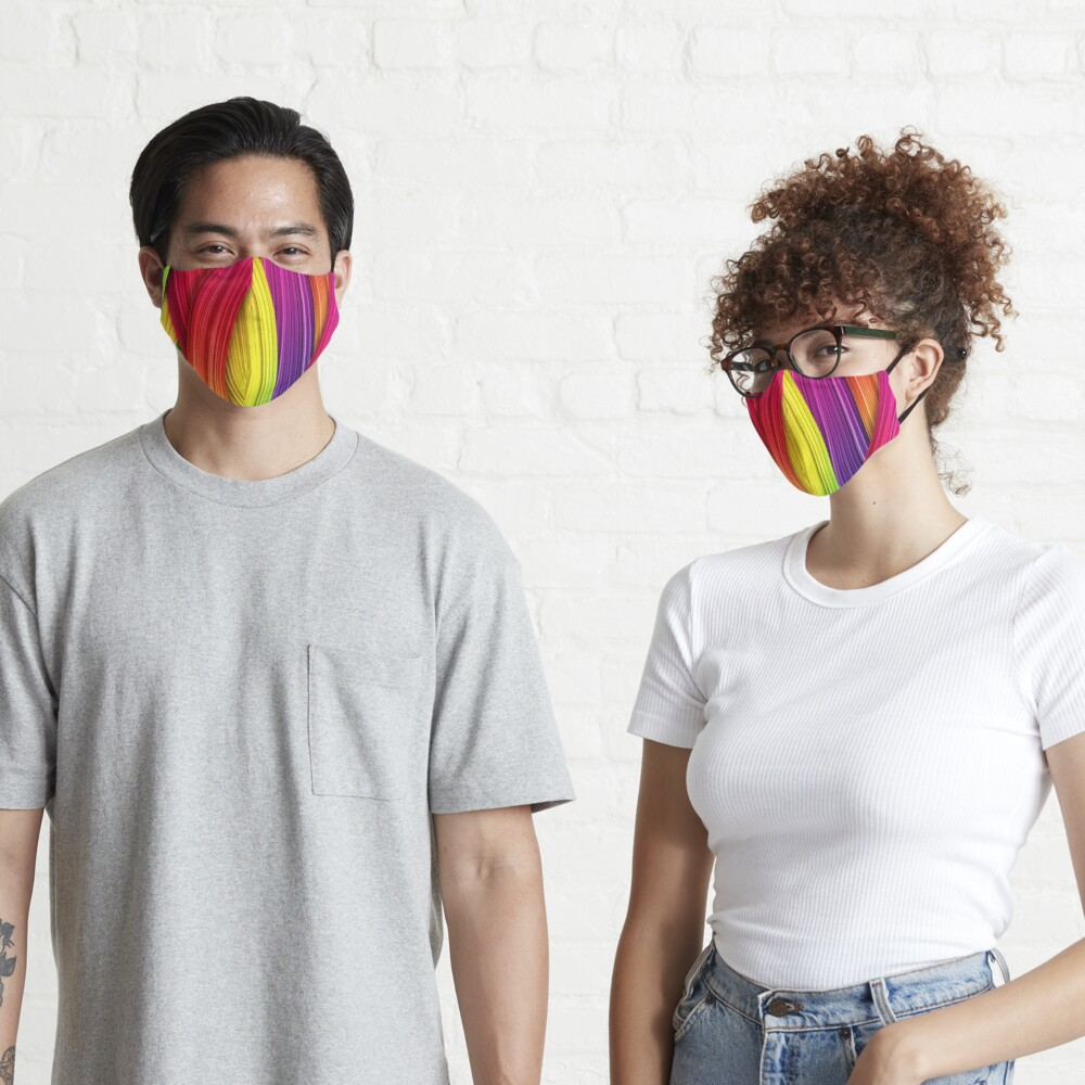 Brush Strokes design  Mask