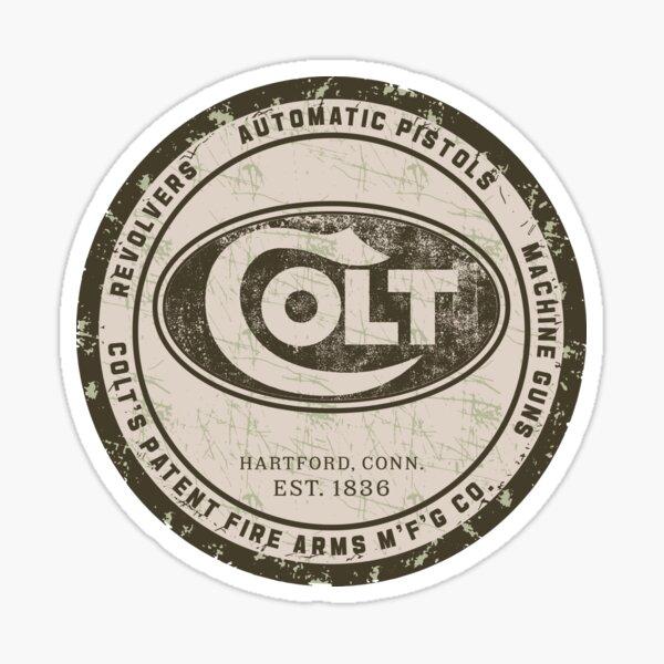 Colt Firearms Sticker