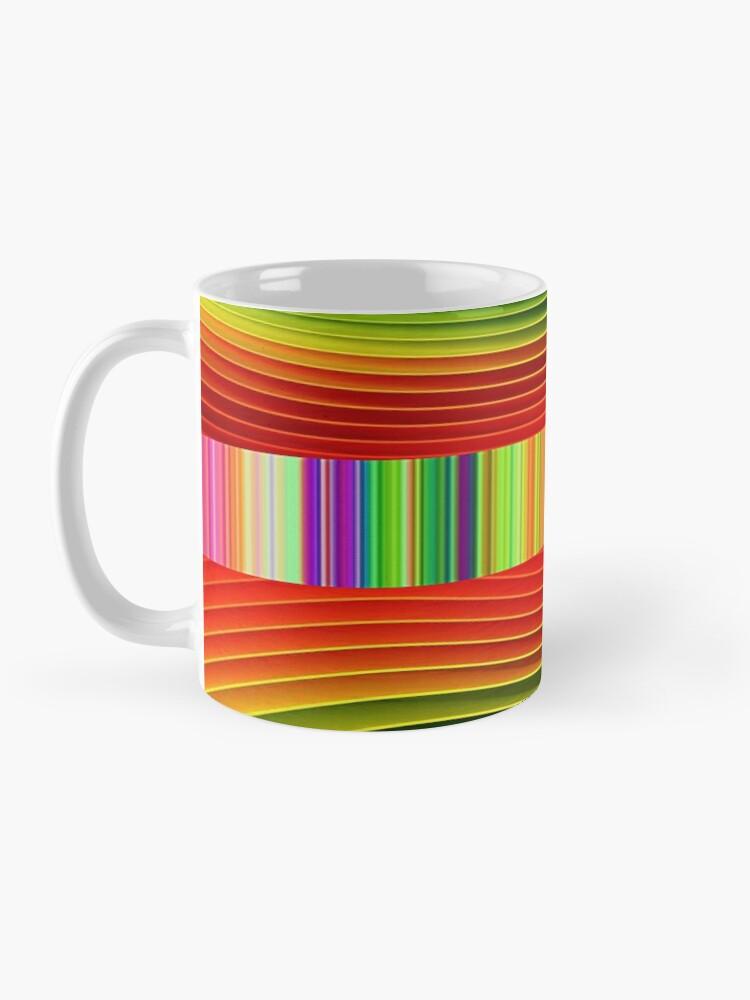 Alternate view of Swirls, Swirls, and Whirls design 2  Mug