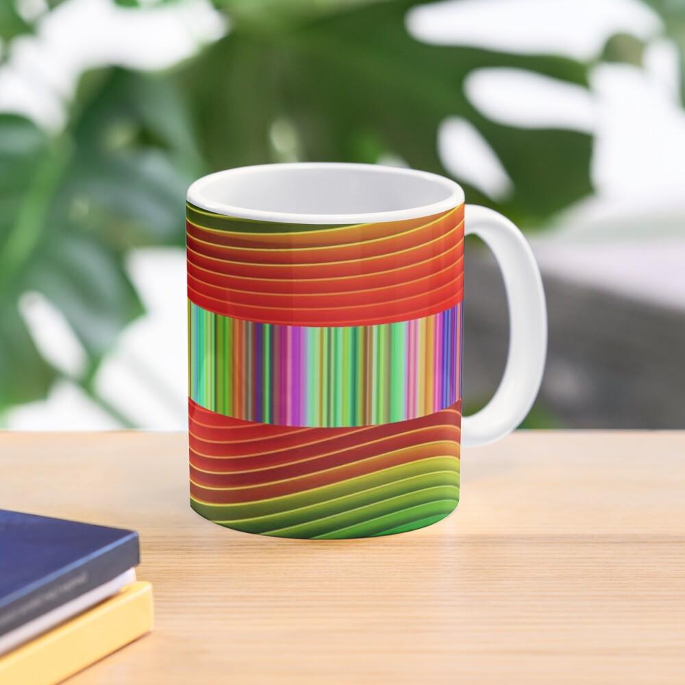 Swirls, Swirls, and Whirls design 2  Mug