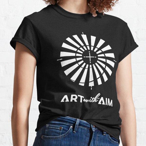 Monochrome White no Frame Classic T-Shirt