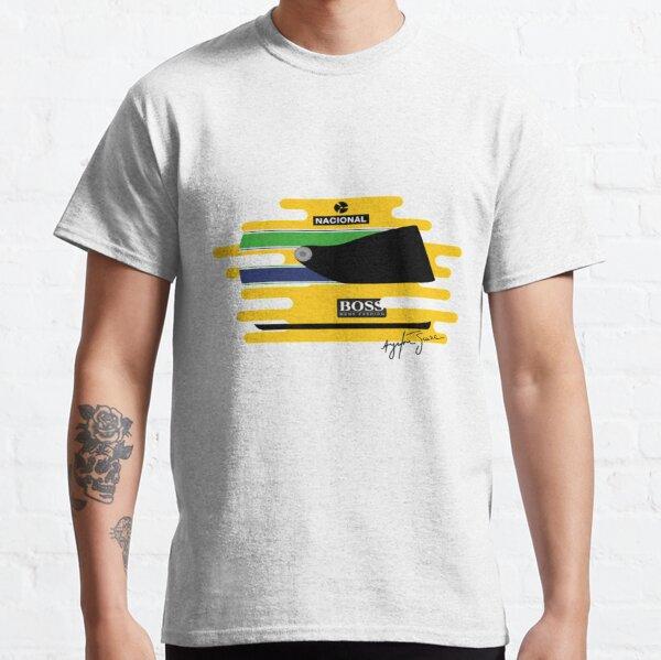 Casque Ayrton Senna Formula 1 Tribute T-shirt classique