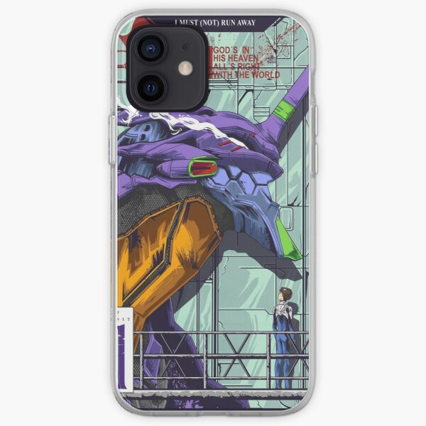 Neon Genesis Evangelion (Unité Evangelion-01) Coque souple iPhone