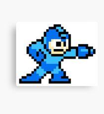 Mega Man Pixel Art Canvas Print