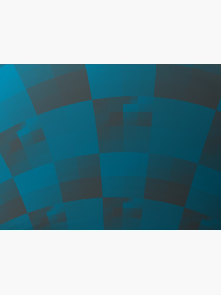 Squares Abstract Pattern Blue by garretbohl