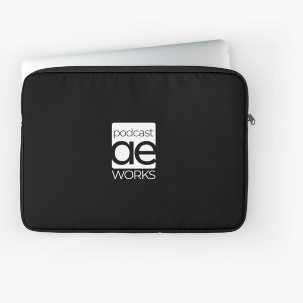 AEWorks Podcast Logo Laptop Sleeve