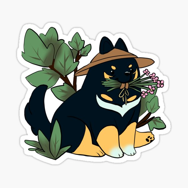 Dog Gardening Sticker