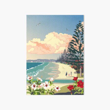 Orewa Beach, New Zealand Art Board Print