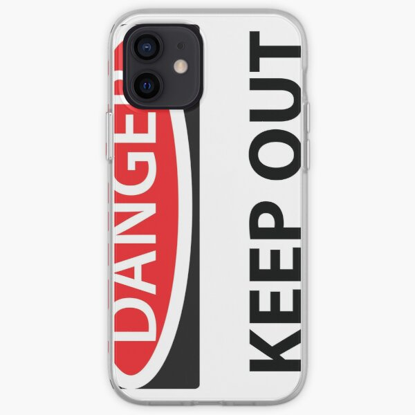 Danger Keep Out iPhone Soft Case