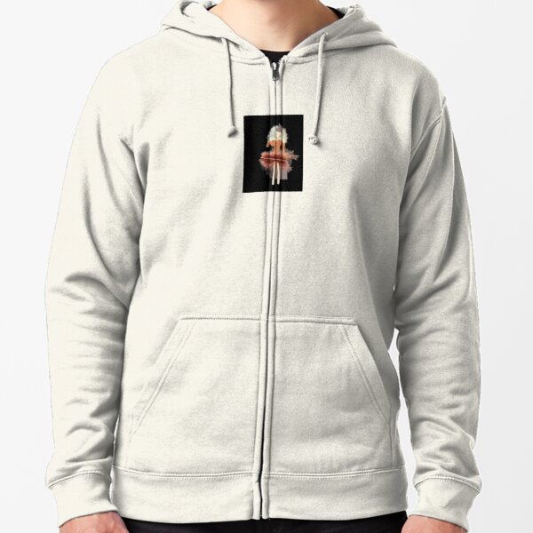 that girl from andorra Zipped Hoodie
